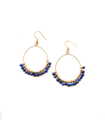 Chloe Earrings - Lapis - LatchCo - 1