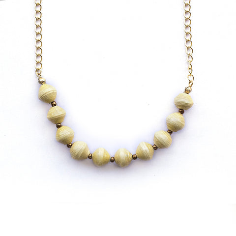 Eleanor Necklace - Yellow