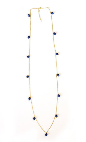 Elizabeth Necklace - Blue - LatchCo - 1