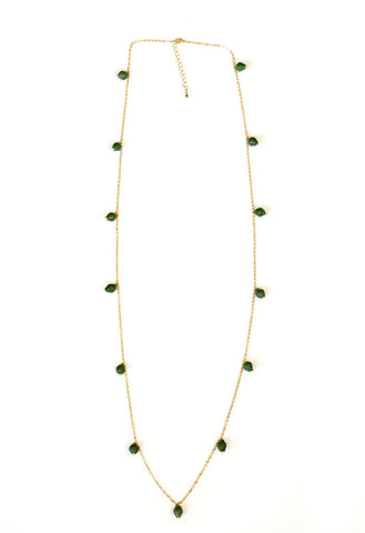 Elizabeth Necklace - Green - LatchCo - 1