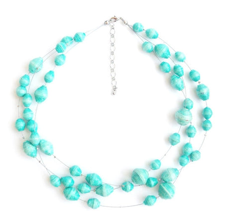Jane Necklace - Teal - LatchCo - 1