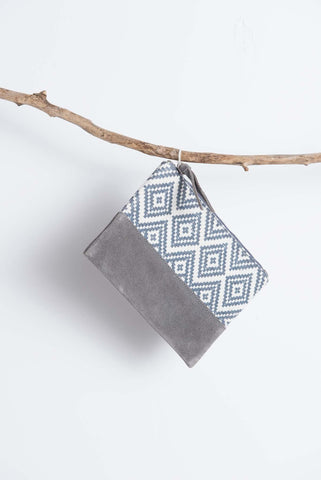 Kina Pouch - Blue/White - LatchCo