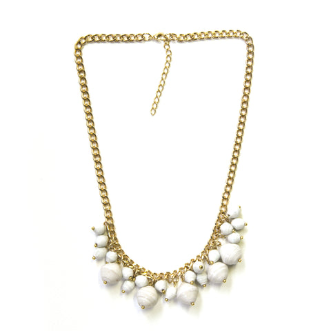 Lee Necklace - White - LatchCo - 1