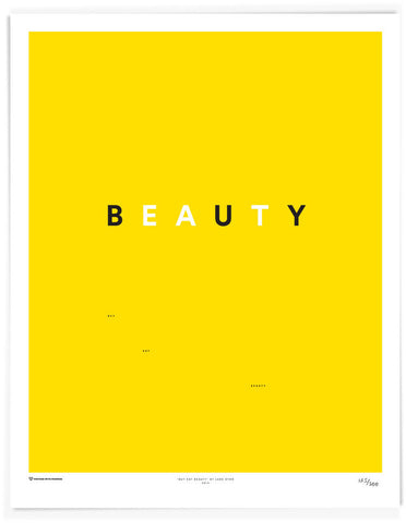 Buy Eat Beauty Poster by Lars Dyhr - LatchCo - 1