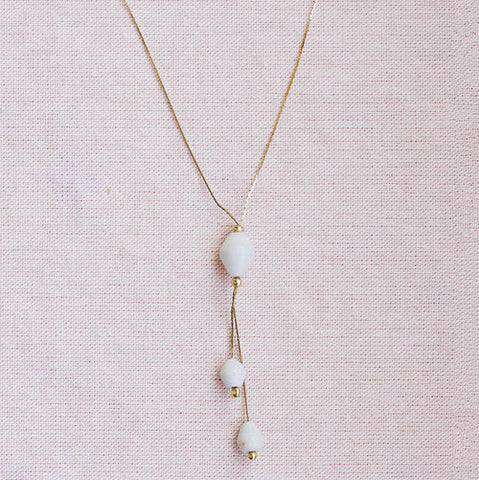 Ali Necklace - White - LatchCo - 1