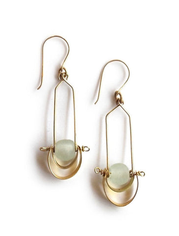 Bahari Cascading Brass Earrings - LatchCo