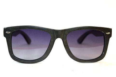Black-Stained Bamboo Sunglasses - LatchCo - 1
