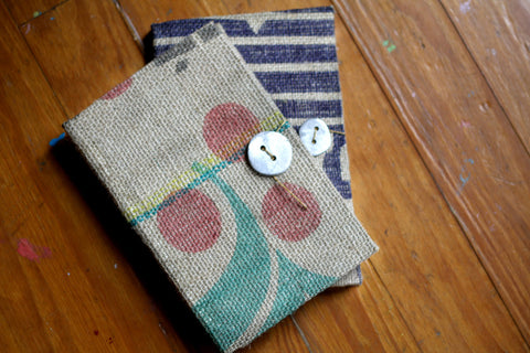 Burlap Journal - LatchCo - 1