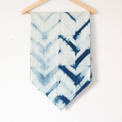 Chevron Table Runner - Pacific Blue - LatchCo - 1