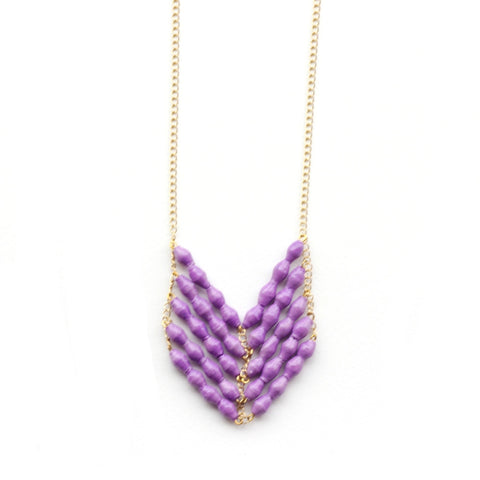 Eve Necklace - Lilac - LatchCo - 1