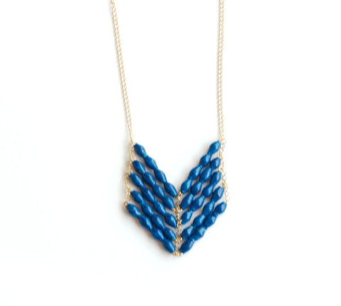 Eve Necklace - Royal Blue - LatchCo - 1