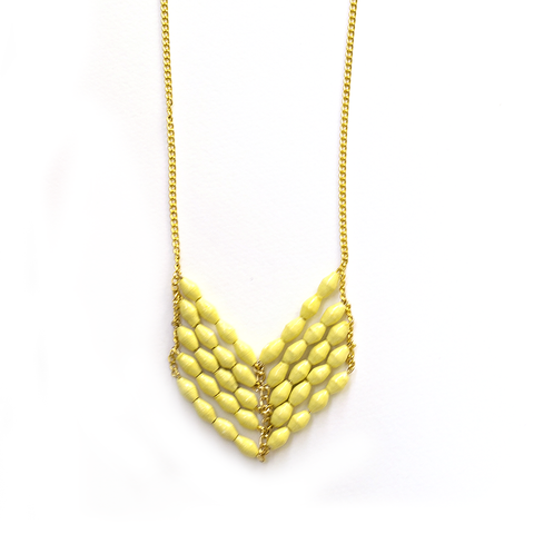 Eve Necklace - Yellow - LatchCo - 1