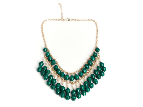 Florence Necklace - Evergreen - LatchCo - 1