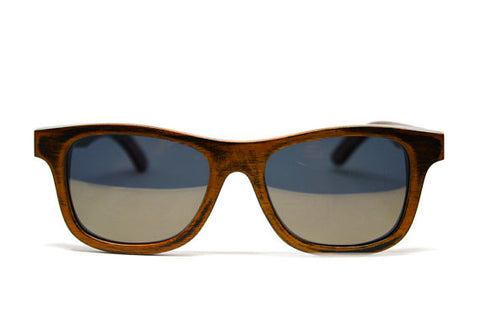 Gold-Stained Bamboo Sunglasses - LatchCo - 1