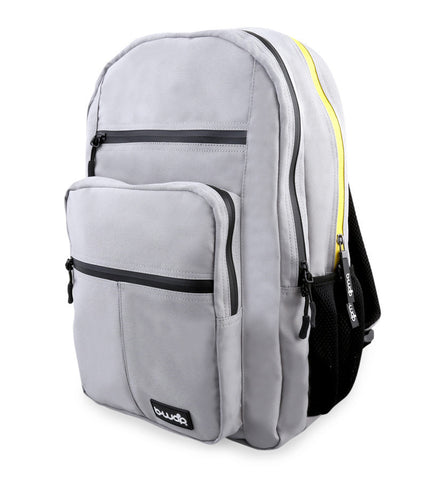 The Original Backpack - Gray with Yellow - LatchCo - 1