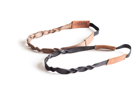 Leather Hair Band - Set of 2 - LatchCo - 1