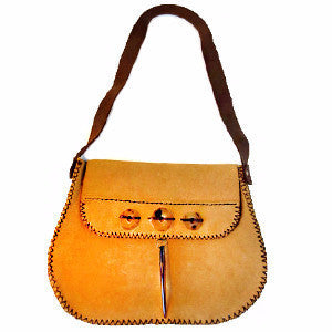 Leather & Horn Purse - LatchCo - 1