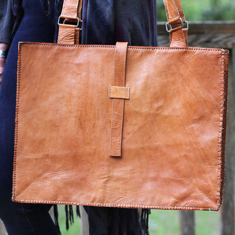 Leather Tote - LatchCo - 1