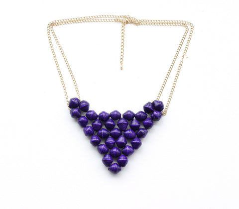 Margaret Necklace - Royal Purple - LatchCo - 1