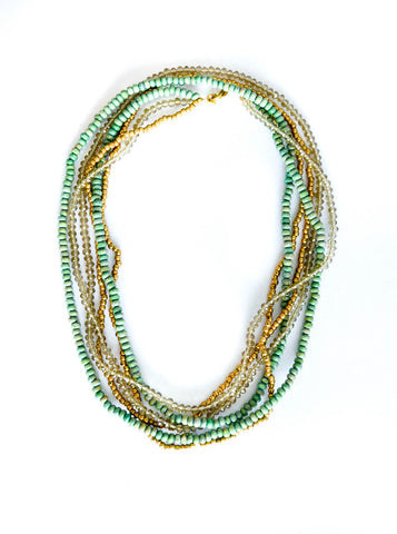 Ana Necklace - Mint