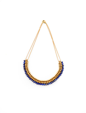 Chloe Necklace - Lapis - LatchCo - 1