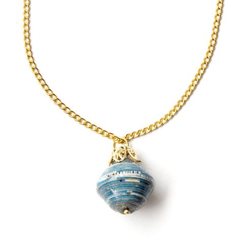 Nina Necklace - Blue - LatchCo - 1