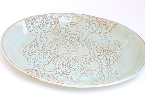 Ceramic Oval Platter - LatchCo - 1