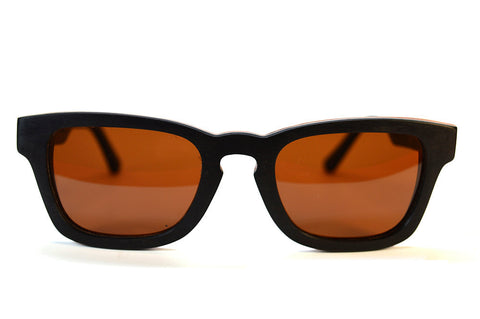 Ebony and Pear Wood Sunglasses - LatchCo - 1