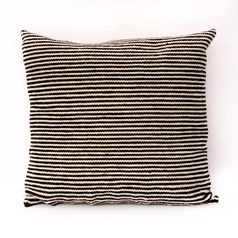 Black and White Peruvian Pillow - LatchCo - 1