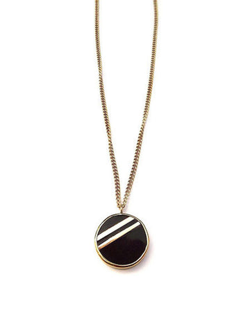 Rahisi Horn Necklace - Black - LatchCo - 1