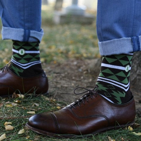 Socks to Plant Trees - Aztec - LatchCo - 1