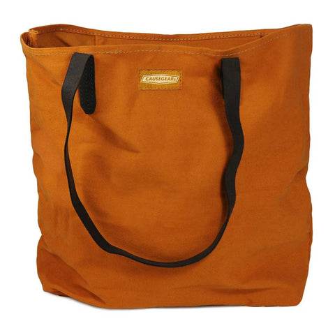 Canvas Tote - Burnt Orange - LatchCo - 2