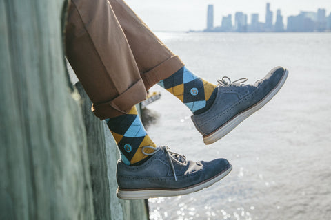 Socks to Give Clean Water - Argyle - LatchCo - 1