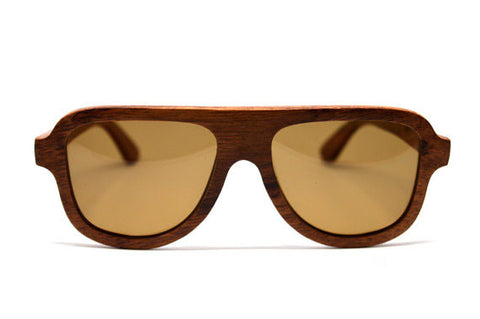 Polarized Wood Sunglasses - LatchCo - 1
