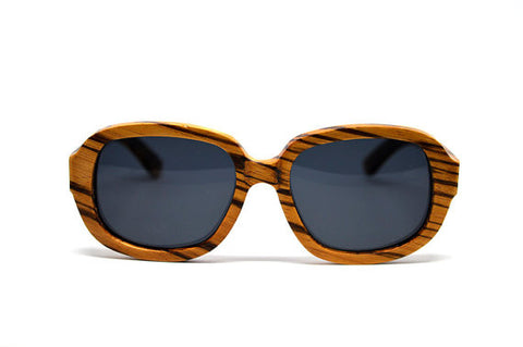 Zebra Wood Sunglasses - LatchCo - 1
