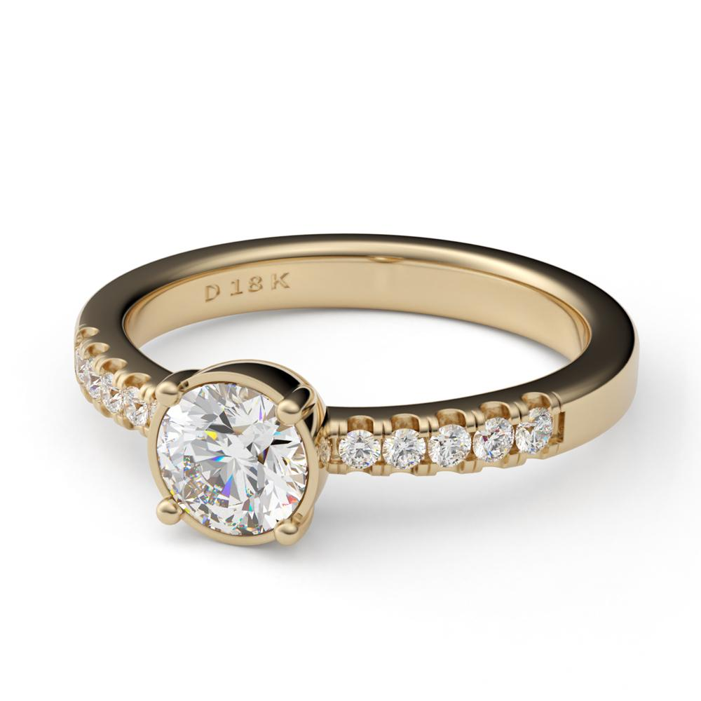 Layla Engagement Ring Diamond Engagement Ring Davidson Jewels