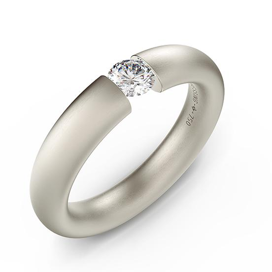 Niessing Oval Niessing Engagement Ring Niessing