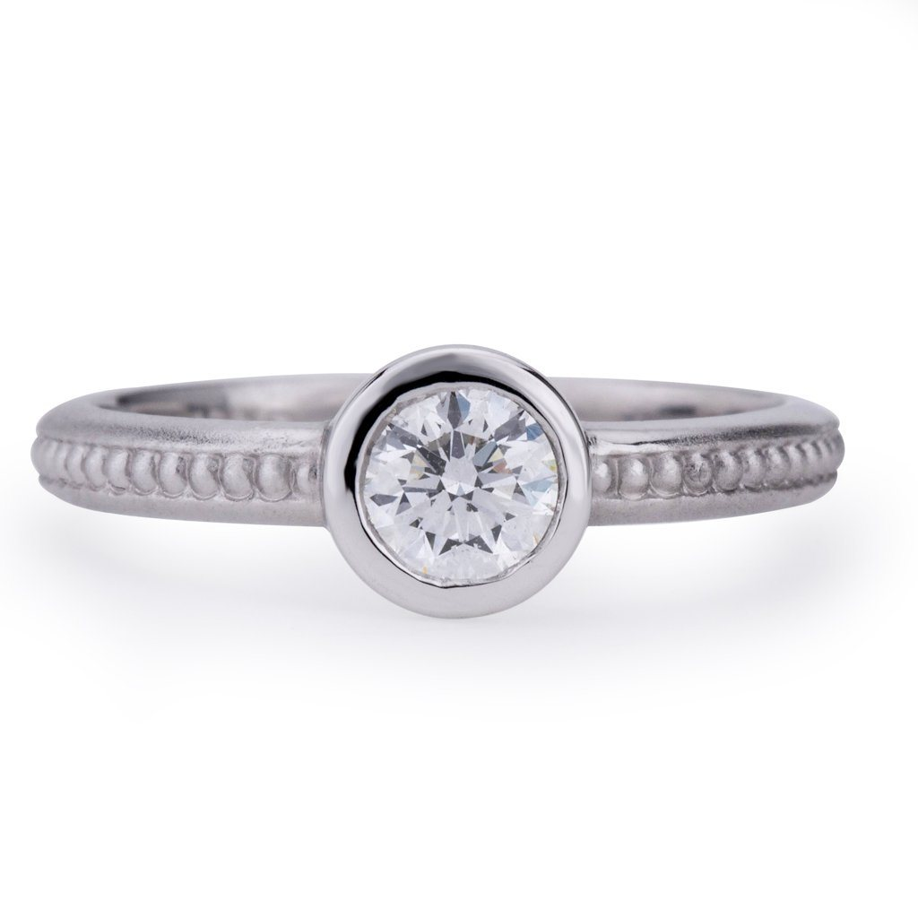 Sawyer Engagement Ring Diamond Engagement Ring Davidson Jewels