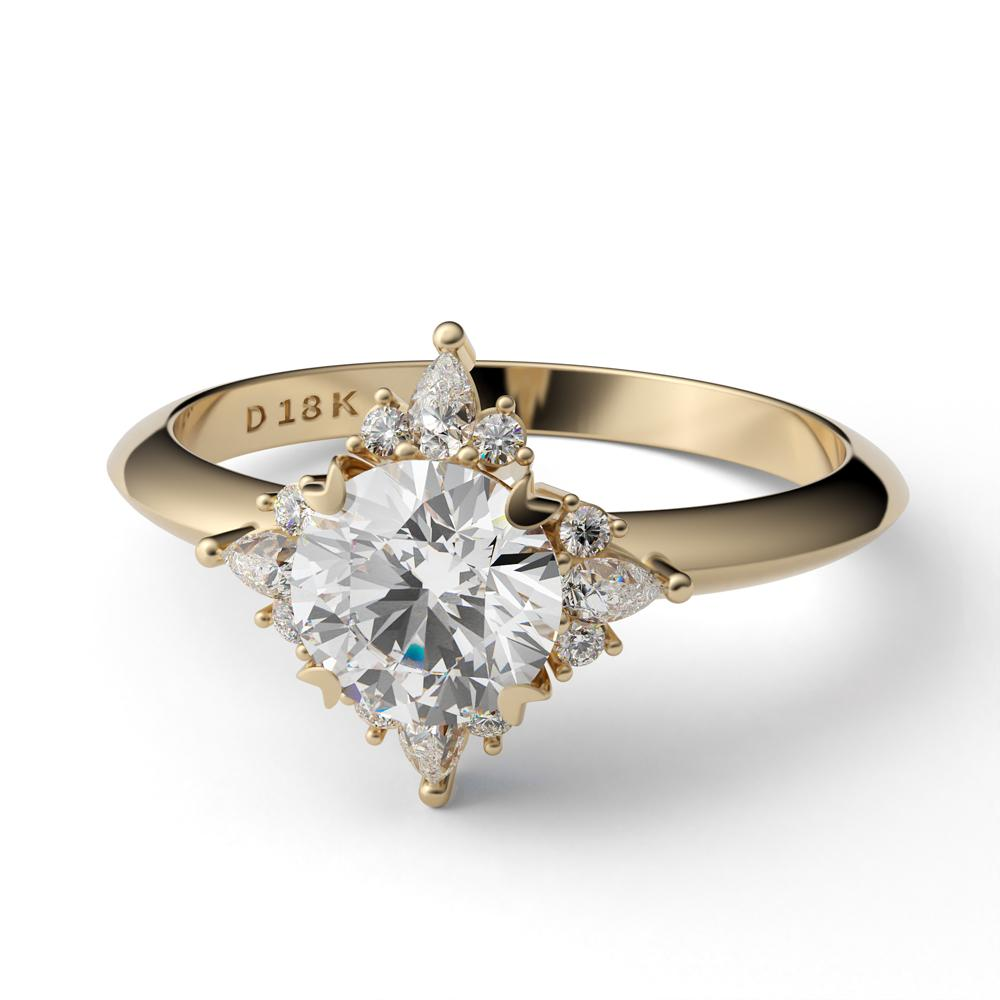 Sofia Diamond Engagement Ring Diamond Engagement Ring Davidson Jewels