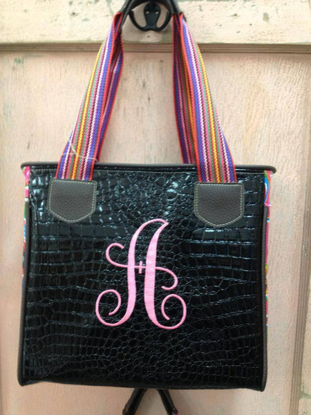 "The Black ""Initial"" Handbag"