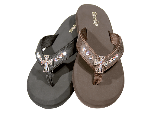 Cross - Crystal 3rd Series Flip Flops