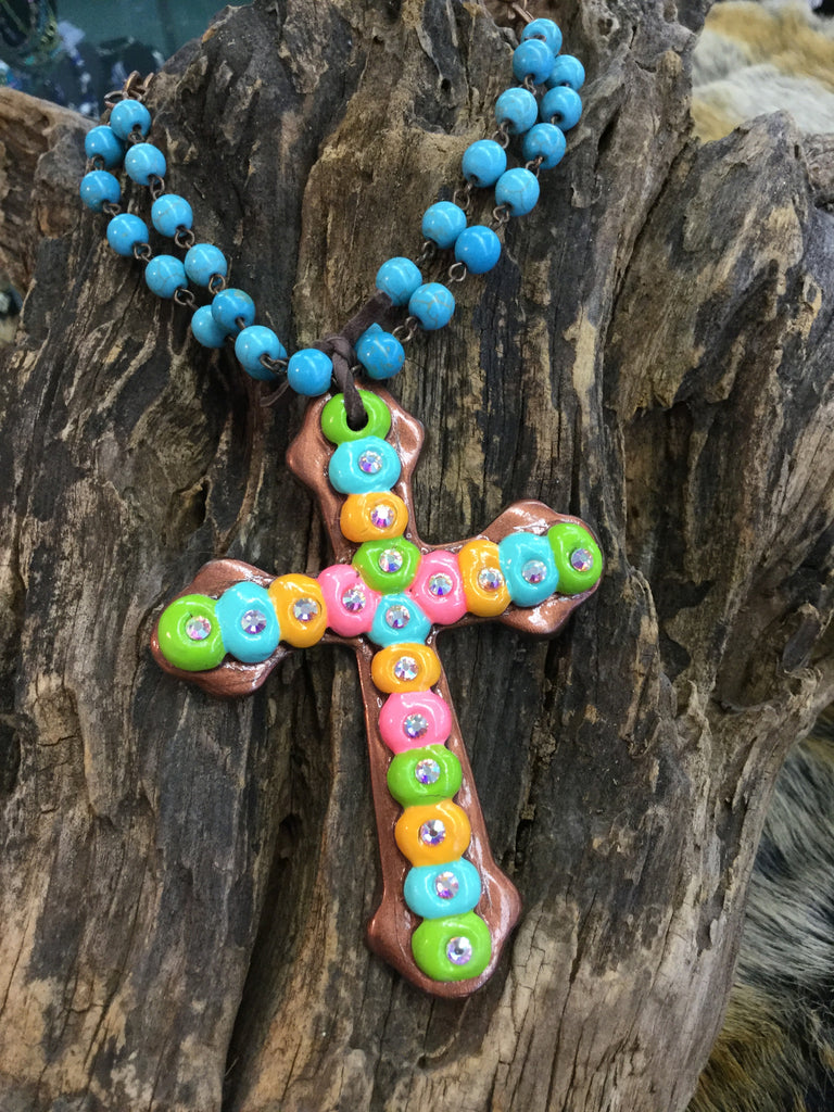"""Madonna Bryant"" Cross Necklace"