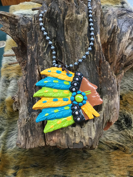 """Big Chief"" Necklace"