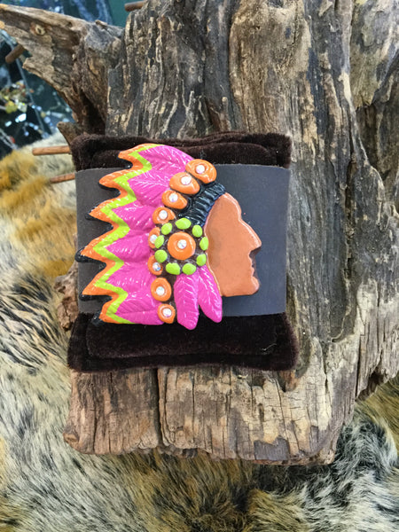"""Big Chief"" Cuff"