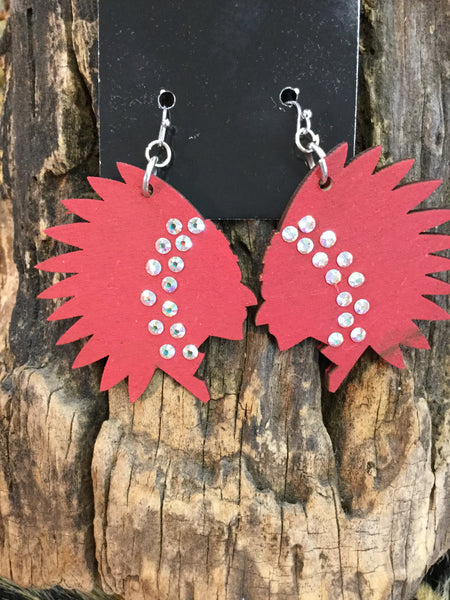 """Camp Chipawa"" Earring"