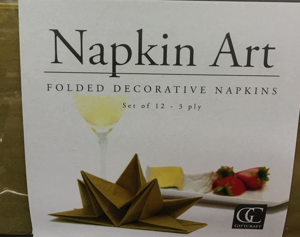 Folded Decorative Napkins