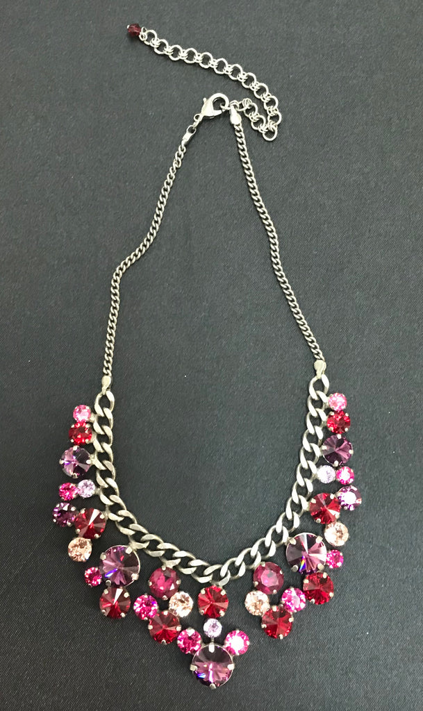 """Pink Ruby"" Necklace"