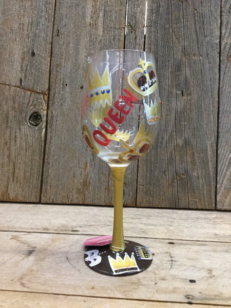 Queen Wine Glass