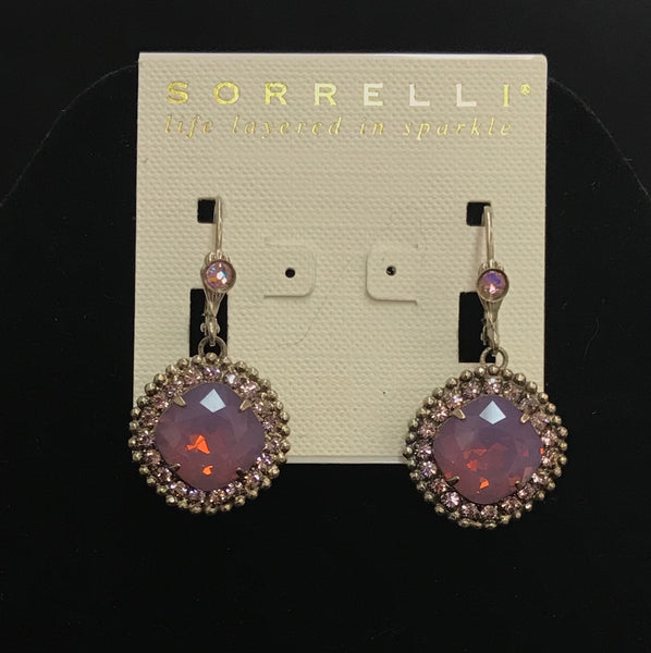 """African Violet"" Earrings"