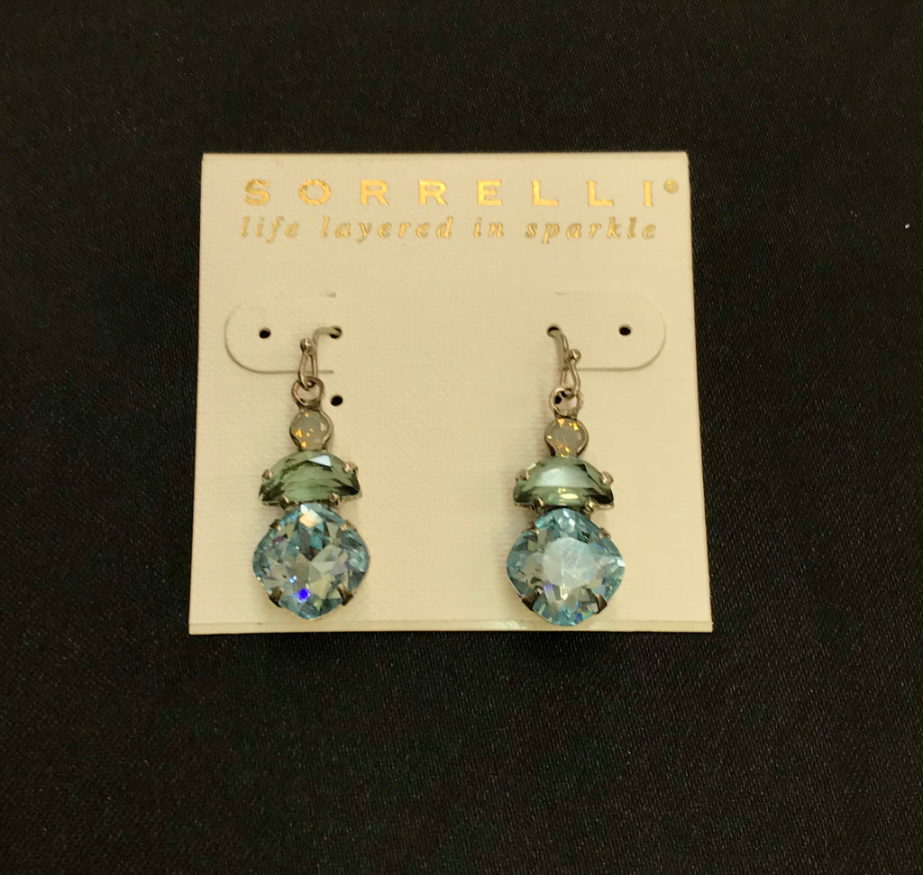 """Pebble Blue"" Earrings"
